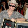 Iron Maiden fait son entrée dans le rockwalk d'Hollywood le 19 août 2005.