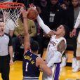 Kyle Kuzman lors du match Denver Nuggest - Los Angeles Lakers. Denver, le 23 décembre 2019.
