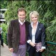 Pierre Sled et Sophie Davant. 28/05/2009 - Paris