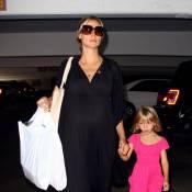 Heidi Klum prépare son accouchement... avec son adorable fille !