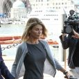 Lori Loughlin et son mari Mossimo Giannulli arrivent au tribunal de Boston. Le 27 août 2019