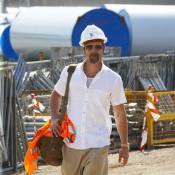 Brad Pitt en homme de chantier... prouve une fois de plus son amour de l'art !