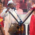 """Mory Kanté - Enregistrement de l'émission """"Les années bonheur"""" le 25 juin 2011."""