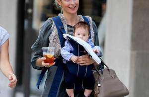 Kelly Rutherford vous présente enfin... son adorable fille Helena !