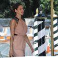 Eva Mendes arrivant à l'hôtel Excelsior au cours du Festival de Venise le 3 septembre 2009
