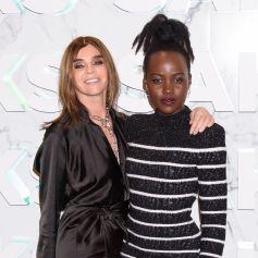 Carine Roitfeld et Lupita Nyong'o à New York, le 7 février 2019.