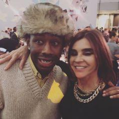Tyler, The Creator et Carine Roitfeld à New York. Novembre 2019.