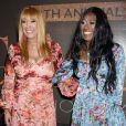 Anita et Bonnie Pointer, des Pointer Sisters, à Hollywood le 10 avril 2019.