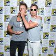 """Hartley Sawyer et Tom Cavanagh - """"The Flash"""" Press Line - 3ème jour - Comic-Con International 2019 au """"San Diego Convention Center"""" à San Diego, le 20 juillet 2019."""