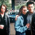 """Gary Oldman, Robin Wright et Sean Penn dans le film """"Les Anges de la nuit"""" en 1989."""