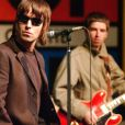 Liam Gallagher et Noel Gallagher à Londres en 2002.