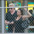 Boris Becker et sa femme Lily à Miami, septembre 2009