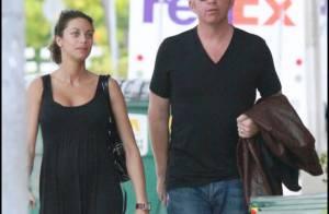 Boris Becker et sa femme enceinte remis de leurs émotions... sont sages comme des images !