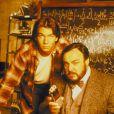 """Jerry O'Connell et John Rhys-Davies dans la série """"Sliders, les mondes parallèles""""."""