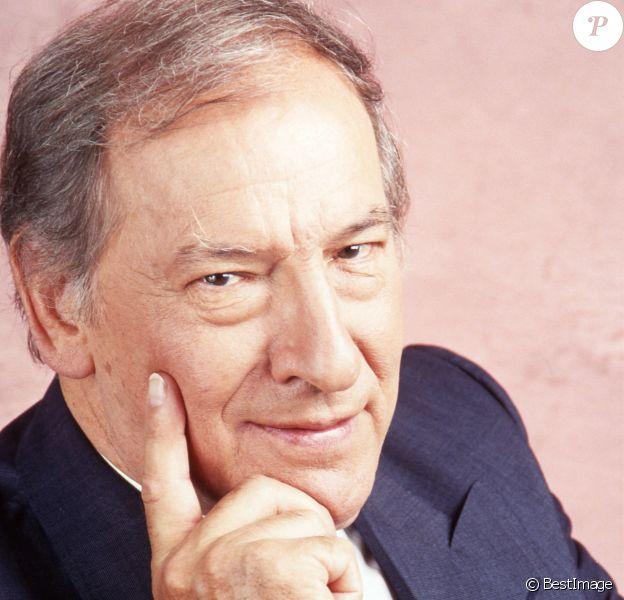 Portrait de Roger Borniche en 1990.
