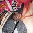 """Exclusif - Wahid Bouzidi - Les célébrités assistent à l'inauguration du restaurant Lounge """"Manzil"""" (Restaurant de viande en bas et sushis lounge à l'étage, et possibilité d'acheter les oeuvres exposées dans le restaurant), le nouveau lieu Hype et Arty aux abords du parc des princes (37 avenue du général Sarrail 75016) à Paris, le 18 juin 2020. © Jack Tribeca / Bestimage"""