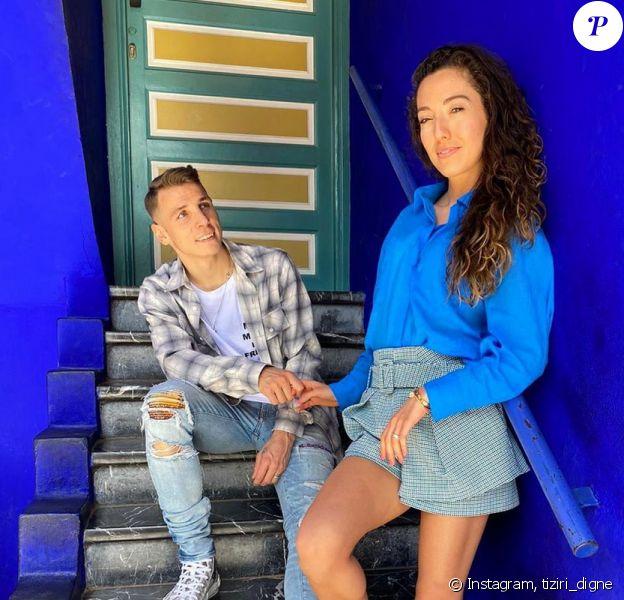 Tiziri Digne, la femme du footballeur Lucas Digne, sur Instagram - 12 mars 2020
