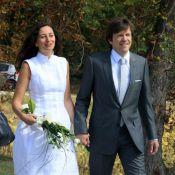 """Eve Ruggieri : sa fille Marion et Paul Barrois, le beau-fils de Michel Sardou, se sont dit """"oui"""" ! Vive les mariés !"""