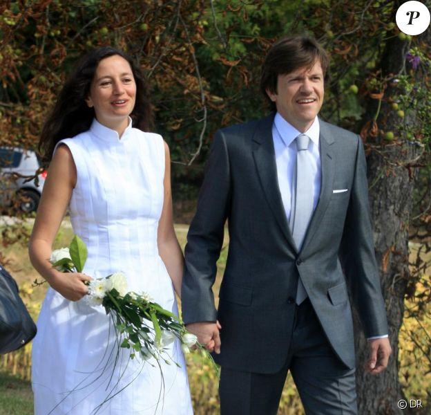 Marion Ruggieri et Paul Barrois se sont unis à Beaumont-sur-l'Osse, le 29/08/09.