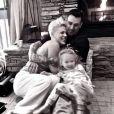 Pink et son mari Carey Hart fêtent leurs dix ans de mariage, le 7 janvier 2016. Photo publiée sur le compte Instagram du pilote de motocross.