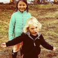 Willow et Jameson, les enfants de Pink. Instagram. Le 18 avril 2020.