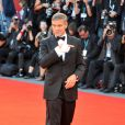 George Clooney arrive pour la projection de  The Men Who Stare at Goats , le 8 septembre 2009 à la Mostra de Venise