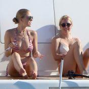 Victoria Swarovski : Bombesque en bikini, l'éclate à Ibiza