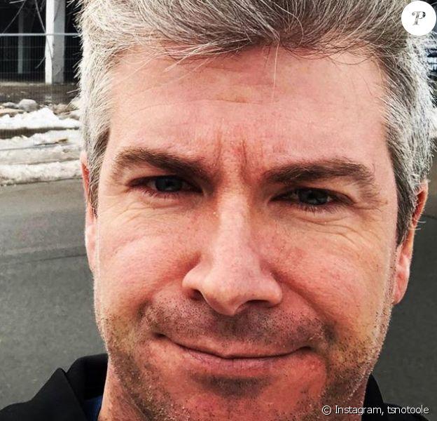 Dan O'Toole, animateur sportif canadien, a annoncé le 2 juillet 2020 que sa fille Oakland, âgée de seulement un mois, a été enlevée. Photo poubliée le 4 février 2020.