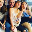 Norbert Tarayre avec ses filles, le 1er mai 2020, sur Instagram