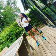 Christine Kelly se dévoile les cheveux lâchés et au naturel sur Instagram - 4 juillet 2020