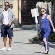 Ellen Pompeo et son mari Chris Ivery à Los Angeles (9/09/09)