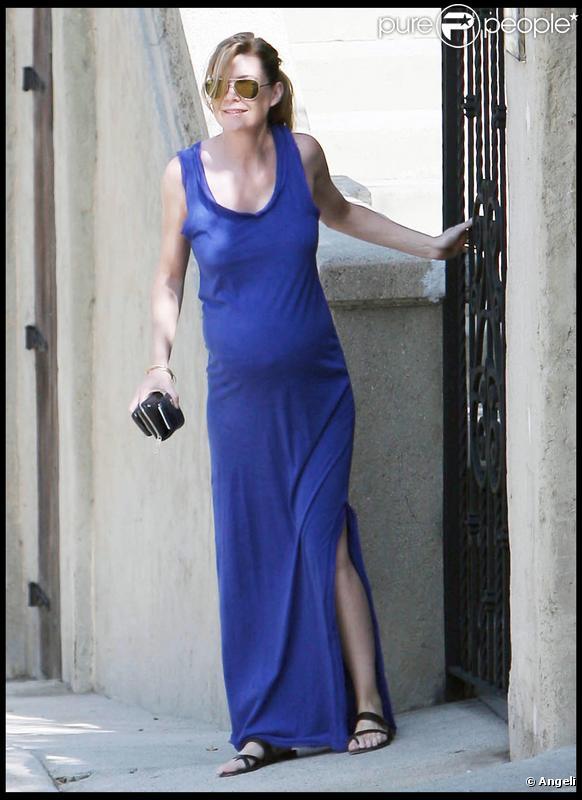 Ellen Pompeo à Los Angeles (9/09/09)
