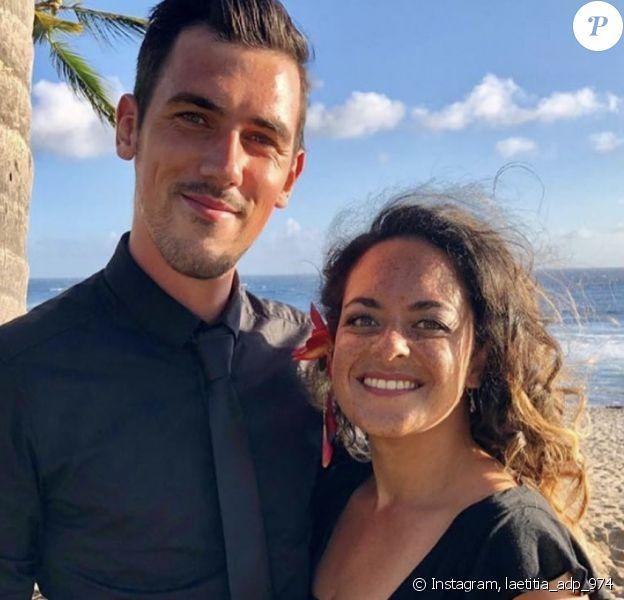 Laetitia (L'amour est dans le pré) et son compagnon -Instagram, 23 mai 2020