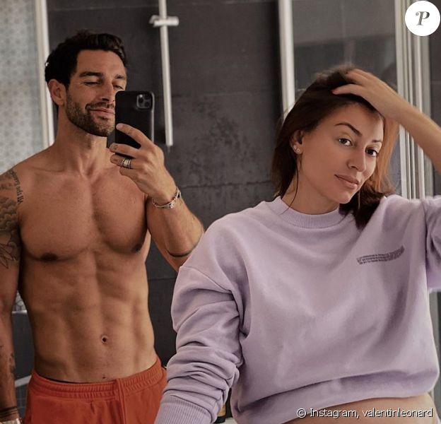Rachel Legrain-Trapani et Valentin Léonard profitent de leur dernière grasse matinée avant l'arrivée de leur bébé - Instagram, 7 juillet 2020