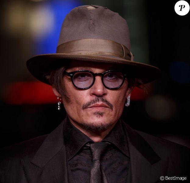 "Johnny Depp - Première du film ""Minamata"" au 70e Festival international du film de Berlin, La Berlinale 2020, à Berlin le 21 Février 2020."