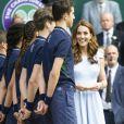 Catherine (Kate) Middleton, duchesse de Cambridge - Le tournois de Wimbledon 2019, Londres les 12, 13 et 14 juillet 2019.