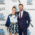 Armie Hammer et Elizabeth Chambers à la soirée Film Independent Spirit Awards à Santa Monica, le 23 février 2019