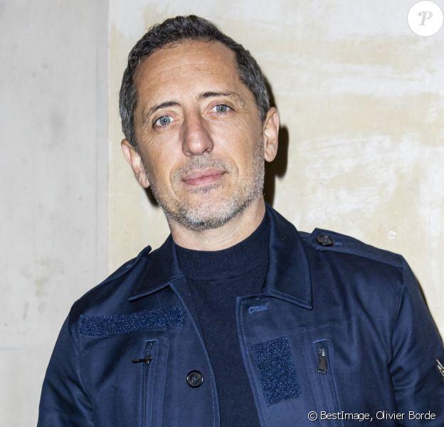 Gad Elmaleh - Photocall du défilé Giambattista Valli - collection prêt-à-porter Automne/Hiver 2020-2021 lors de la Fashion Week à Paris (PFW), le 2 mars 2020. © Olivier Borde / Bestimage