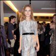 Natalia Vodianova à la nuit de la mode à Londres le 10/10/09