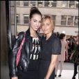 Amber et Yasmin le Bon à la nuit de la mode à Londres le 10/10/09