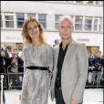 Natalia Vodianova et son époux Justin Portman à la nuit de la mode à Londres le 10/10/09