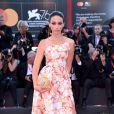 """Delphine Wespiser à la première du film """"Saturday Fiction (Lan xin da ju yuan)"""" lors du 76ème festival du film de Venise, la Mostra, sur le Lido de Venise, Italie, le 4 septembre 2019."""