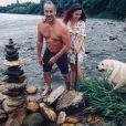 Delphine Wespiser et Roger, le 28 juin 2020, sur Instagram