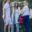Exclusif - Justin Timberlake et sa femme Jessica Biel sont allés soutenir leur fils Silas Randall Timberlake à son entrainement de baseball à Los Angeles. Kimberly Biel, la mère de Jessica est de la partie, le 29 octobre 2019.
