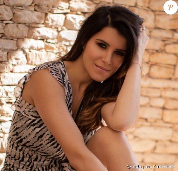 Karine Ferri. Juin 2020.