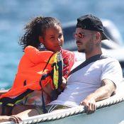 M. Pokora, papa comblé : journée en mer avec Isaiah et Christina Milian