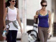Sex and The City 2 : Sarah Jessica Parker et Kristin Davis,  à fond la forme... pour rentrer dans leurs belles tenues !