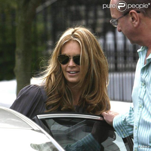 Elle MacPherson à Londres, le 11 septembre 2009