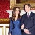 Annonce des fiançailles du prince William et Kate Middleton à Clarence House, le 16 novembre 2010.