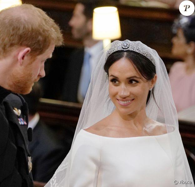Le mariage du prince Harry avec Meghan Markle, le 19 mai 2018 à Windsor.